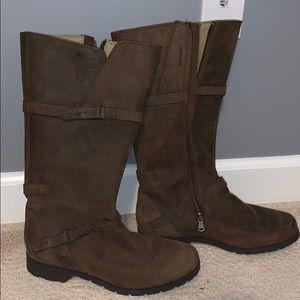 Teva Brown Leather Waterproof Boots